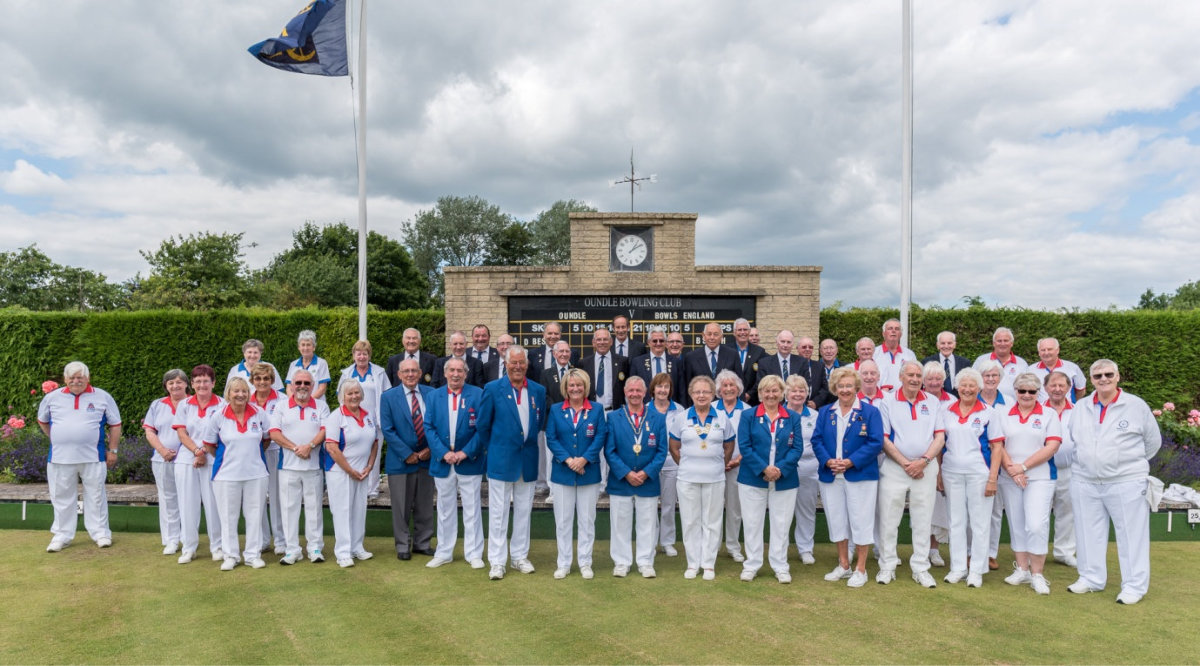 Oundle Bowling Club Hosts Bowls England for Celebration Match