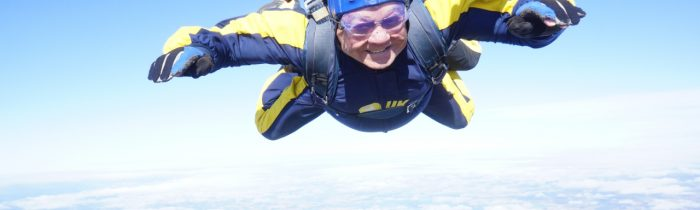 Member's Parachute Jump for Charity